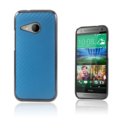 Carbon (Blå) HTC One Mini 2 Skal