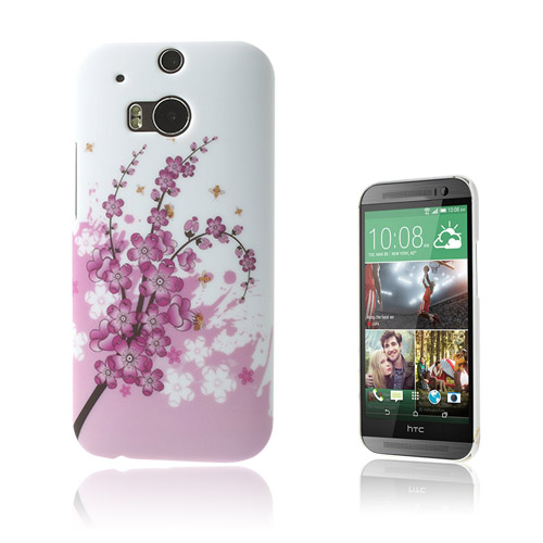Valentine (Rosa) HTC One M8 Skal
