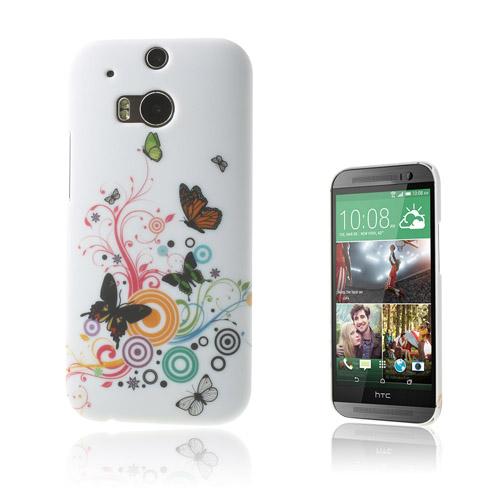 Valentine (Tre Fjärilar) HTC One M8 Skal