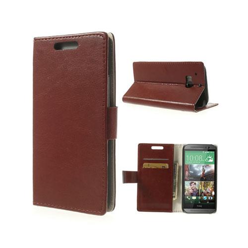 Business (Brun) HTC One (M8) Läderfodral