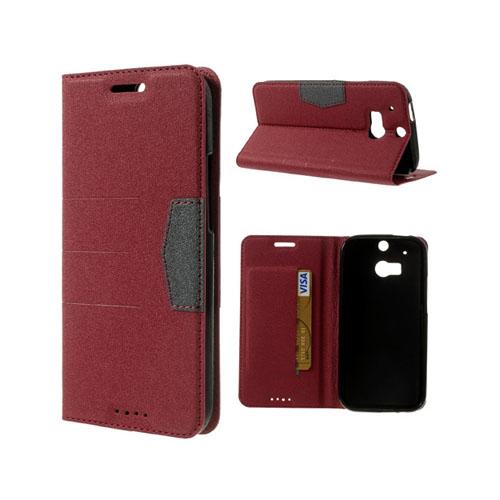 General (Röd) HTC One (M8) Fodral