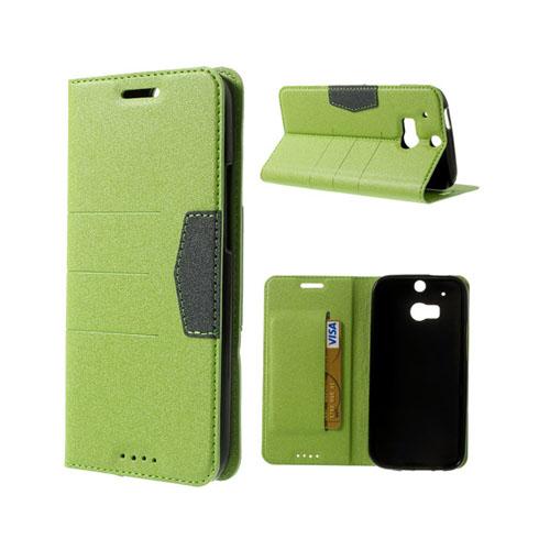 General (Grön) HTC One (M8) Fodral