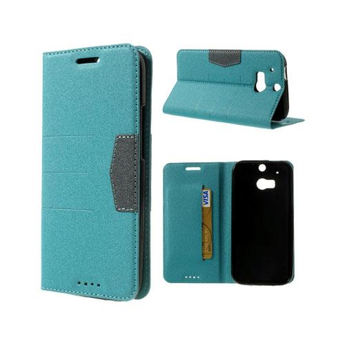 General (Ljusblå) HTC One (M8) Fodral