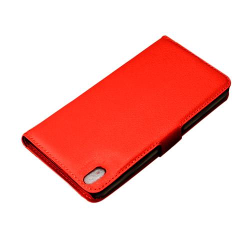 Bahamas (Röd) HTC Desire 816 Läderfodral