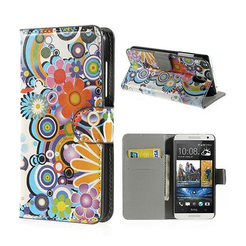 Moberg (Färgglada Blommor) HTC Desire 610 Fodral