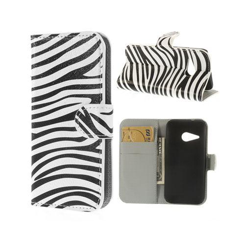 Festival (Zebra) HTC One Mini 2 Flip-Fodral