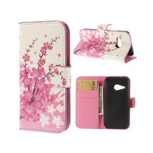 Festival (Rosa) HTC One Mini 2 Flip-Fodral