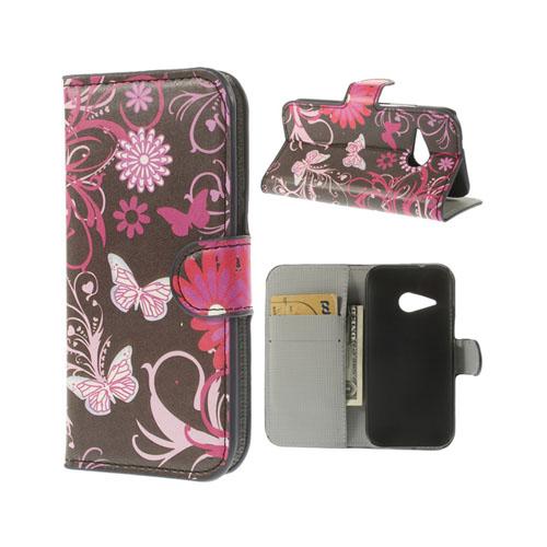 Festival (Nattfjärilar) HTC One Mini 2 Flip-Fodral