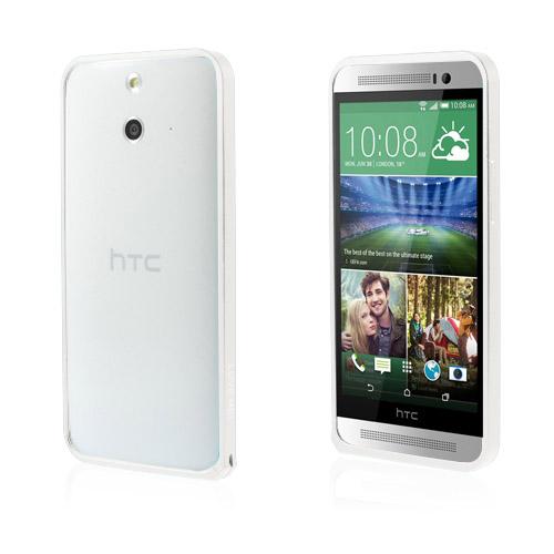 LOVE ME! (Silver) HTC One (E8) Metall-Bumper