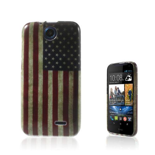 Westergaard (Vintage USA Flagga) HTC Desire 310 Skal