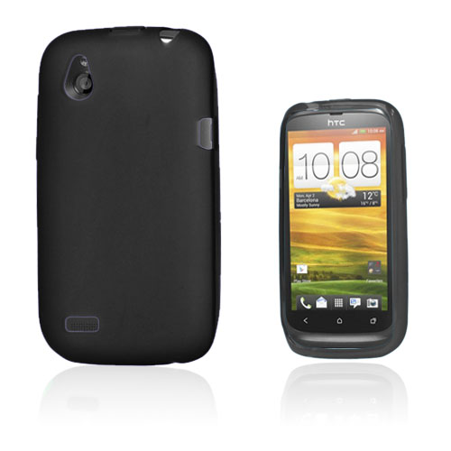 Migri (Svart) HTC Desire V Skal