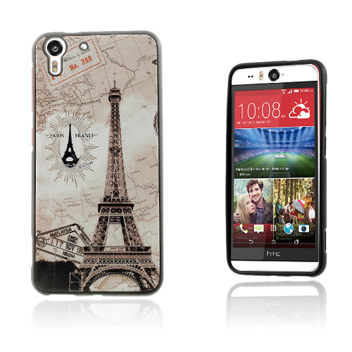 Westergaard HTC Desire Eye Skal – Eiffeltornet & Världs Karta