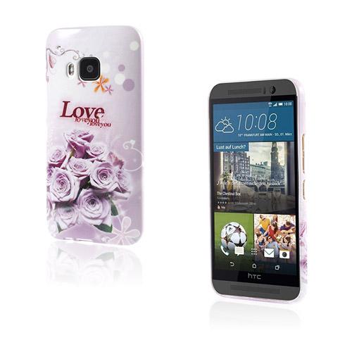 Westergaard HTC One M9 Skal – Kärlek Rosor