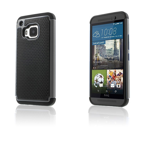 Fotboll HTC One M9 Skal – Grå