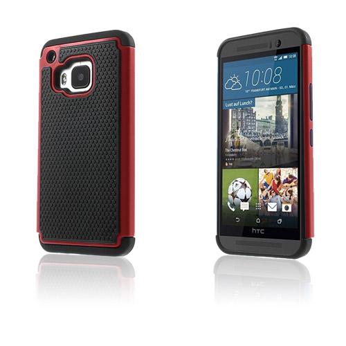 Fotboll HTC One M9 Skal – Röd