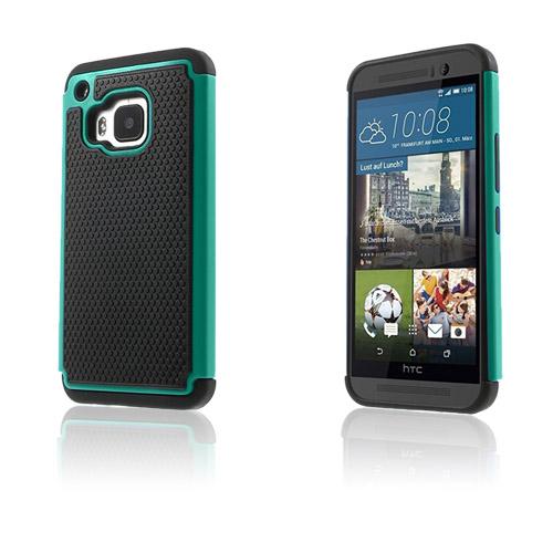 Fotboll HTC One M9 Skal – Cyan