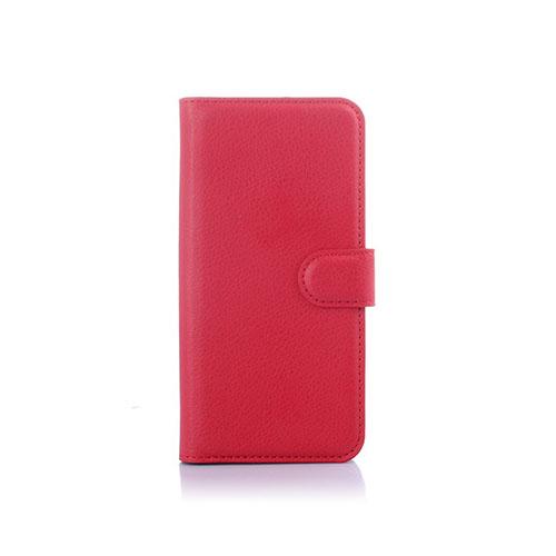 Lönnrot (Röd) HTC One M9 Läder Fodral med Korthållare