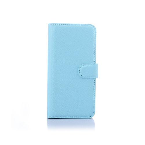 Lönnrot (Blå) HTC One M9 Läder Fodral med Korthållare