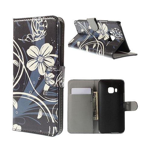 Moberg HTC One M9 Läder Fodral med Korthållare – Elegant Blommig