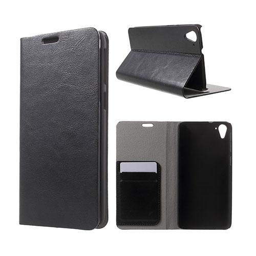 Mankell (Svart) HTC Desire 826 Läder Fodral Med Korthållare