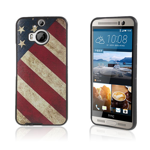 Wester Edge HTC One M9 Plus Skal – USA Flagga