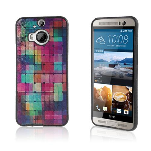Wester Edge HTC One M9 Plus Skal – Färgglada Rutor