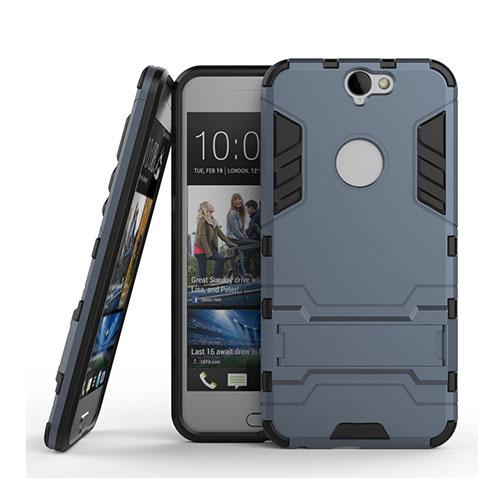 Hybrid HTC One A9 Silikon & Metall Skal – Mörkblå