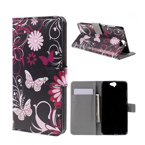 Moberg HTC One A9 Fodral – Fjäril Blommor