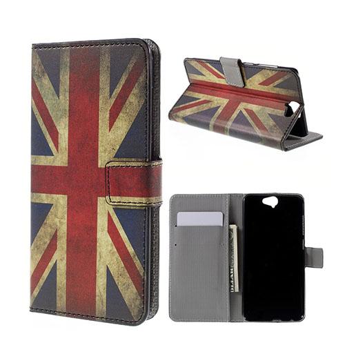 Moberg HTC One A9 Fodral – Vintage Brittiska Flaggan