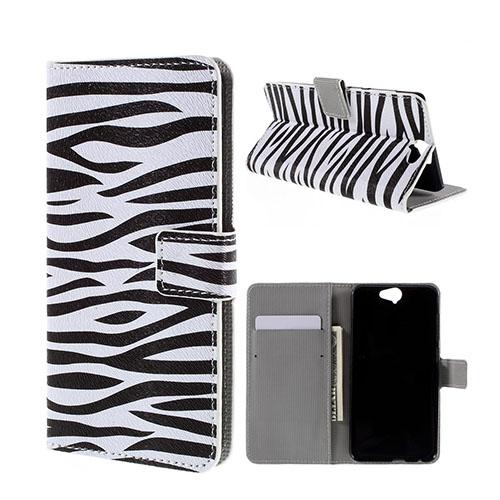 Moberg HTC One A9 Fodral – Zebra Ränder
