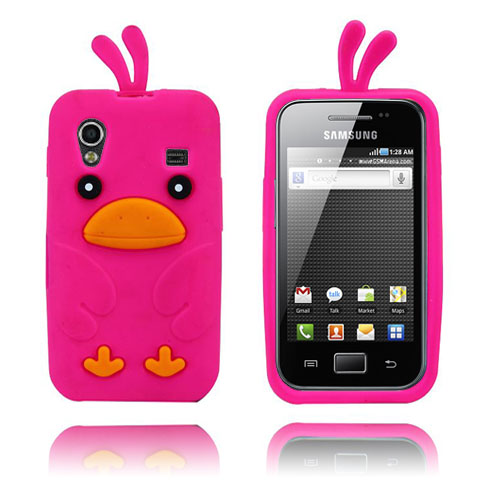Chicken (Het Rosa) Samsung Galaxy Ace Skal