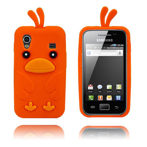 Chicken (Orange) Samsung Galaxy Ace Skal