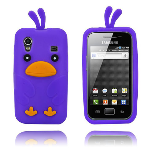 Chicken (Lila) Samsung Galaxy Ace Skal