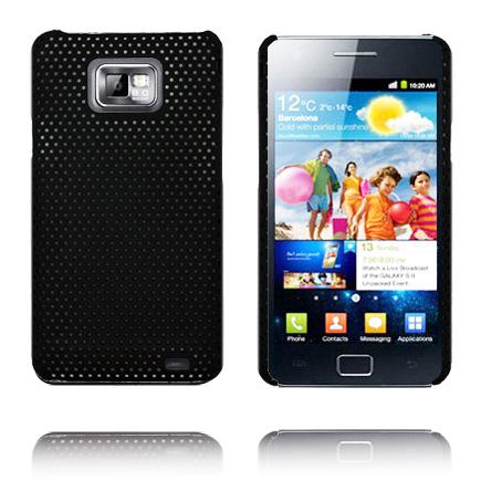 Atomic First Gen. (Svart) Samsung Galaxy S2 Skal