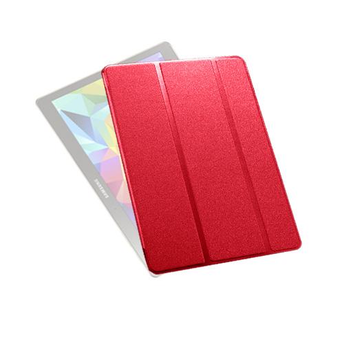 Heiberg (Röd) Samsung Galaxy Tab S 10.5 Läder Triple-Fall Fodral