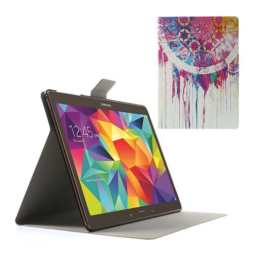 Moberg Samsung Galaxy Tab S 10.5 Läder Fodral med Stativ – Drömfångare i Vattenfärg