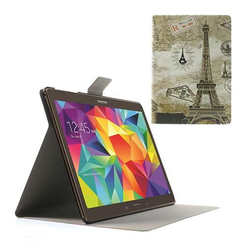 Moberg Samsung Galaxy Tab S 10.5 Läder Fodral med Stativ – Eiffeltornet