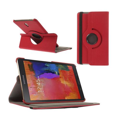 Von Born (Röd) Samsung Galaxy Tab S 8.4 Läder Roterande Stativ Fodral