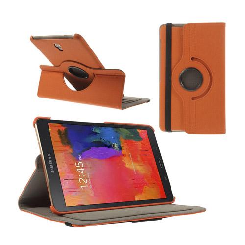 Von Born (Orange) Samsung Galaxy Tab S 8.4 Läder Roterande Stativ Fodral