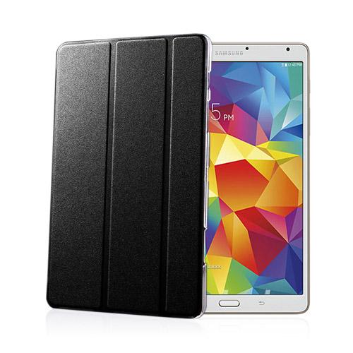 Heiberg (Svart) Samsung Galaxy Tab S 8.4 Läder Triple-Fall Fodral