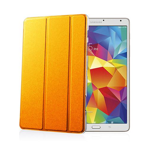 Heiberg (Orange) Samsung Galaxy Tab S 8.4 Läder Triple-Fall Fodral