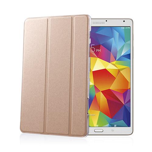 Heiberg (Guld) Samsung Galaxy Tab S 8.4 Läder Triple-Fall Fodral