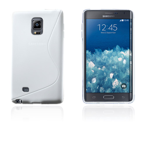 Lagerlöf (Vit) Samsung Galaxy Note Edge Skal