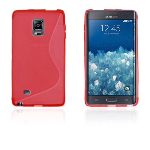 Lagerlöf (Röd) Samsung Galaxy Note Edge Skal