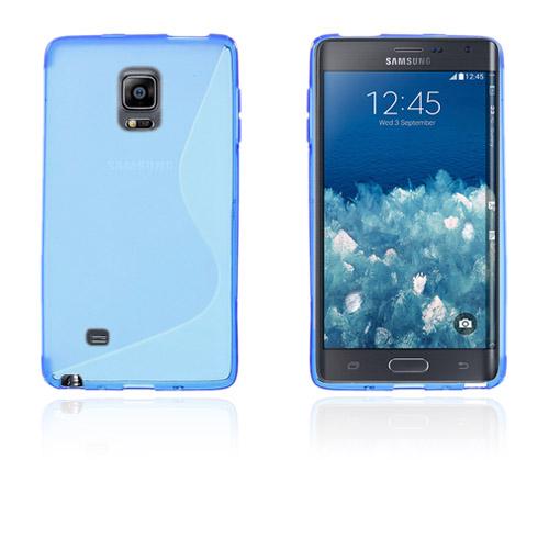 Lagerlöf (Blå) Samsung Galaxy Note Edge Skal