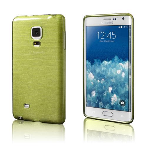 Bremer Samsung Galaxy Note Edge N915 Skal – Grön