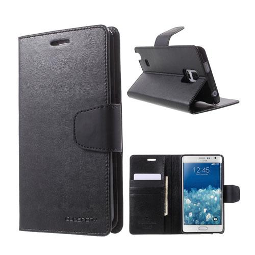 Mercury Samsung Galaxy Note Edge Fodral med Plånbok – Svart