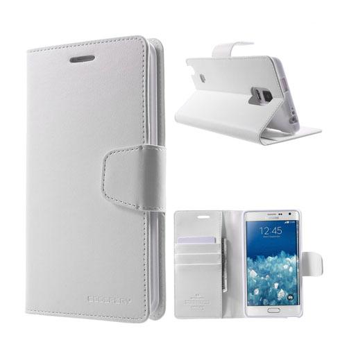 Mercury Samsung Galaxy Note Edge Fodral med Plånbok – Vit