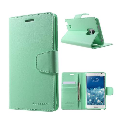 Mercury Samsung Galaxy Note Edge Fodral med Plånbok – Turkos