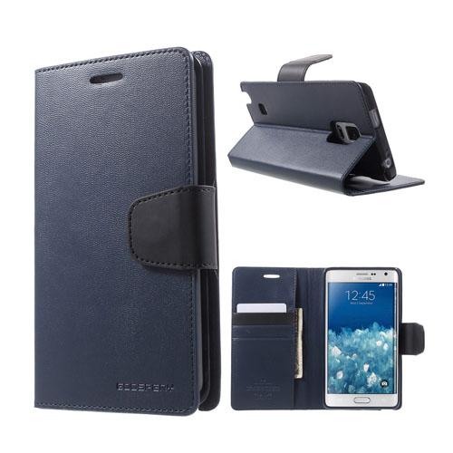 Mercury Samsung Galaxy Note Edge Fodral med Plånbok – Blå